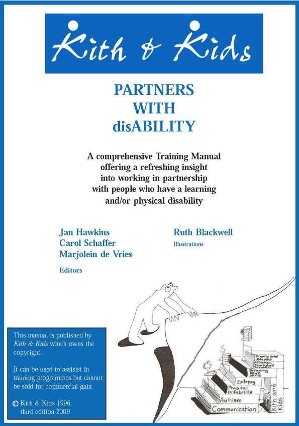 partners with disability training manual