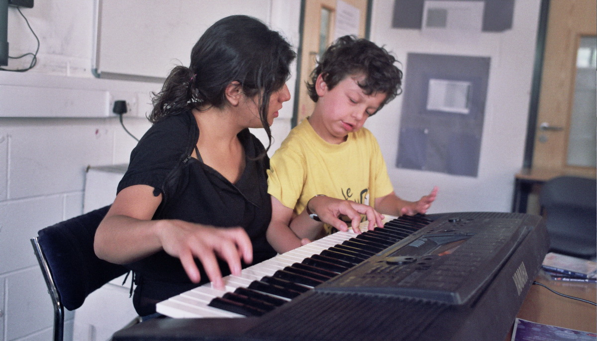 music workshop at weekend club